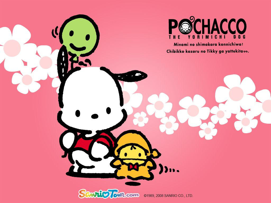Wallpaper iphone keroppi - Pink Sanrio Pochacco Iphone 4 Or Iphone Case