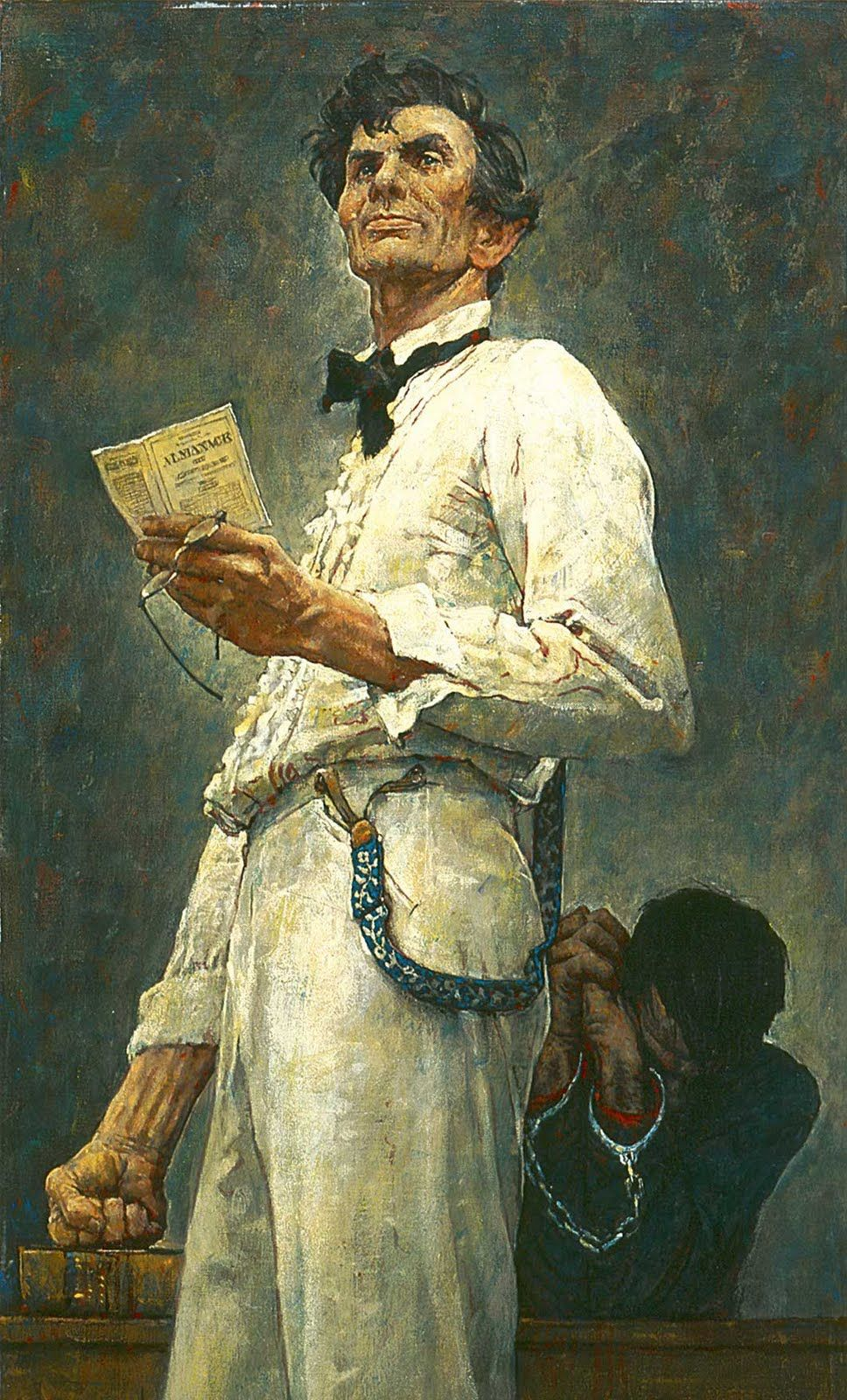 Art Contrarian Norman Rockwell Colorist Lincoln For The