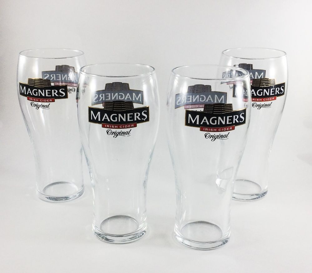 Great Condition 16oz Magners Irish Cider Original Collectible Beer Glass