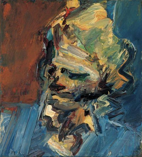 Frank Auerbach, Head of Catherine Lampert, 1956