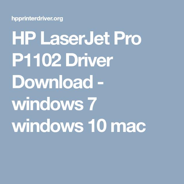HP LaserJet Pro P1102 Driver Download