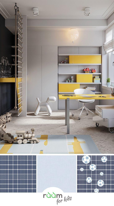 Modernes multifunktionales Kinderzimmer Design Neutral