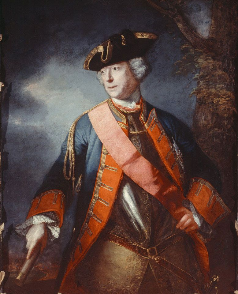 Mansilla Tunon Royal Collections Museum: Field Marshal Jean Louis Ligonier, 1755 (c)
