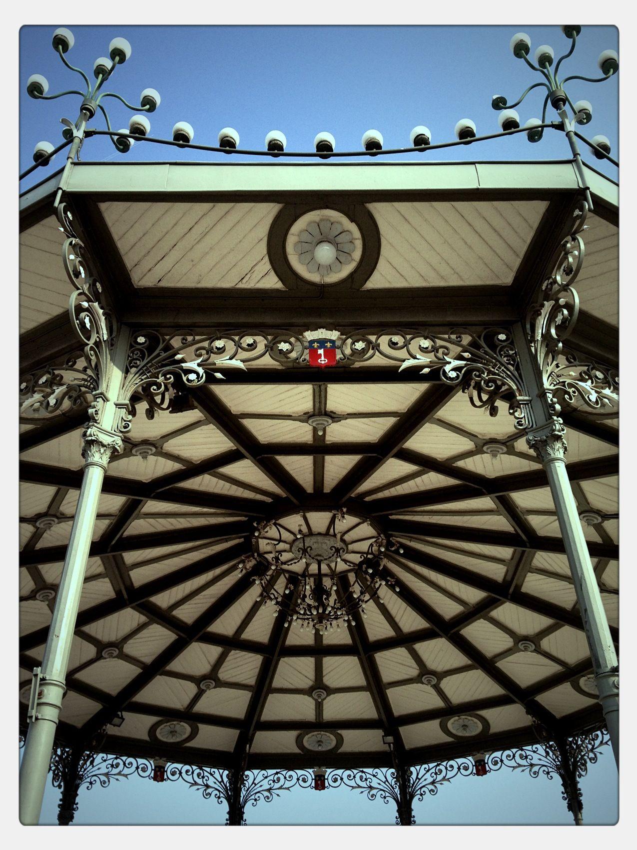 Le kiosque du Jardin du Mail à Angers. | Kiosks | Pinterest | Kiosk