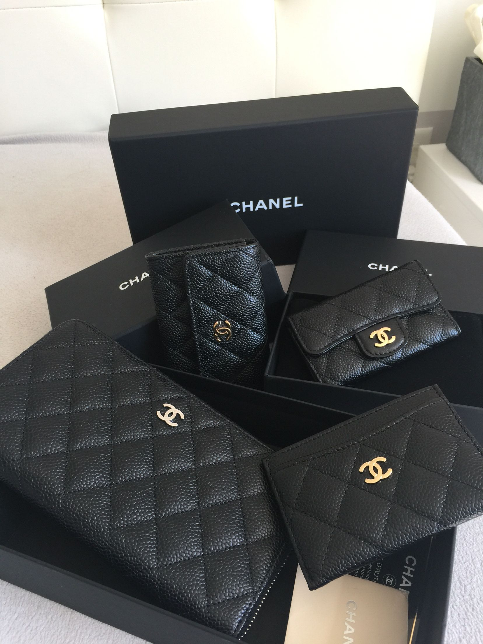 3968b1a6196769 Chanel caviar slg Chanel Wallet Small, Cos Bags, Celine Bag, Luxury Shoes,