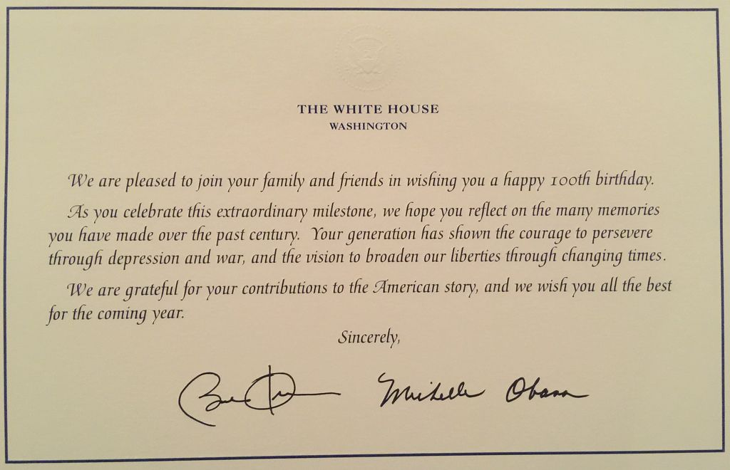 Birthday Card From President My Birthday Pinterest Birthday