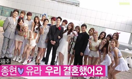 Hong+Jong+Hyun+and+Yura | ... de la première rencontre entre Hong Jong Hyun et Yura (Girl's Day
