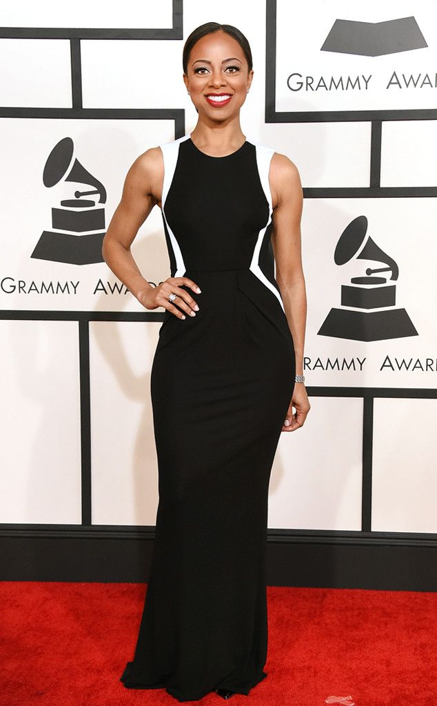Nischelle Turner from Grammy Awards 2015 : le tapis rouge | E! Online