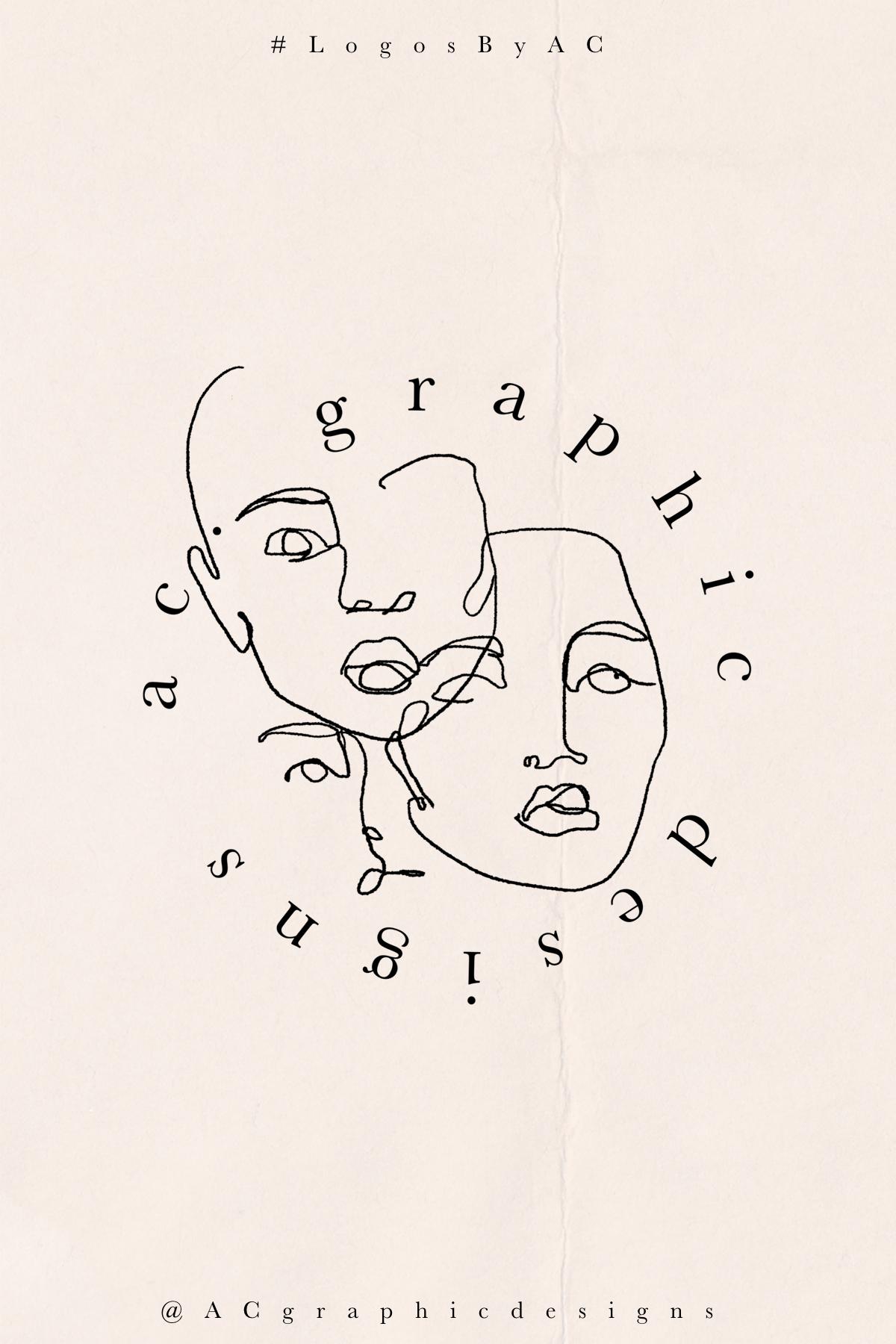 LogosByAC AC. Graphic Designs Logo in 2020 Graphic