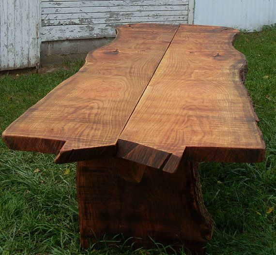 Natural Edge Honey Locust Table By Cyndietz On Etsy 5000