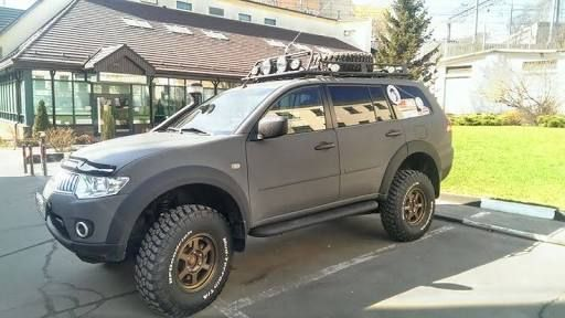Mitsubishi Pajero Sport With Off Road Tyres Google Search Vans