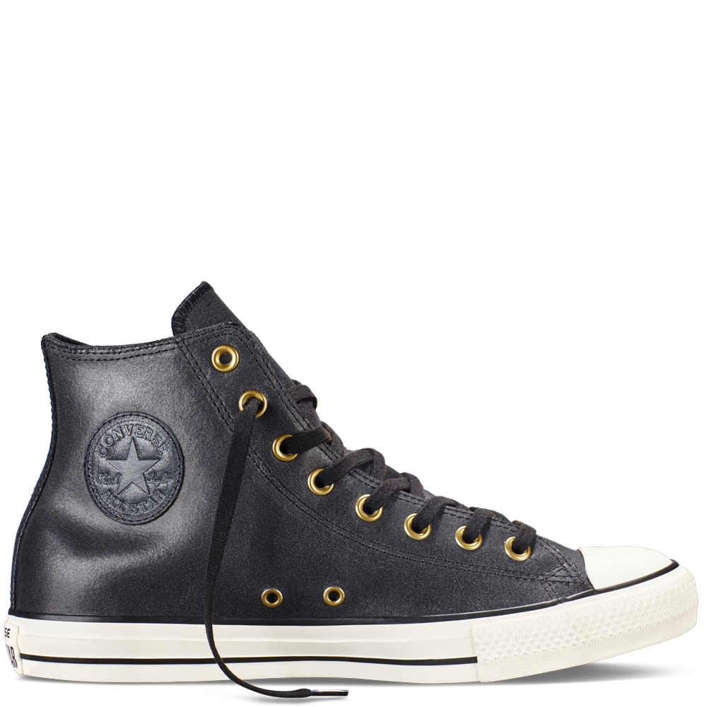 49d01a8875c Chuck Taylor All Star Vintage Leather Noir Noir Aigrette