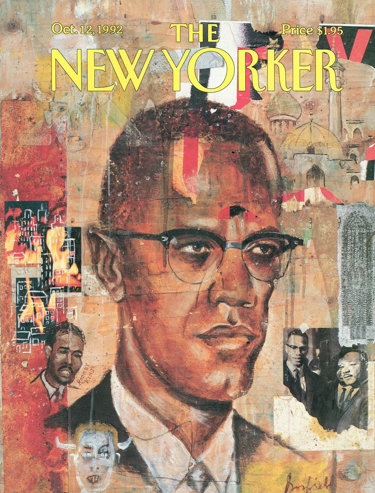 The New Yorker - Monday, October 12, 1992 - Issue # 3530 - Vol. 68 - N° 34 - Cover by : Josh Gosfield