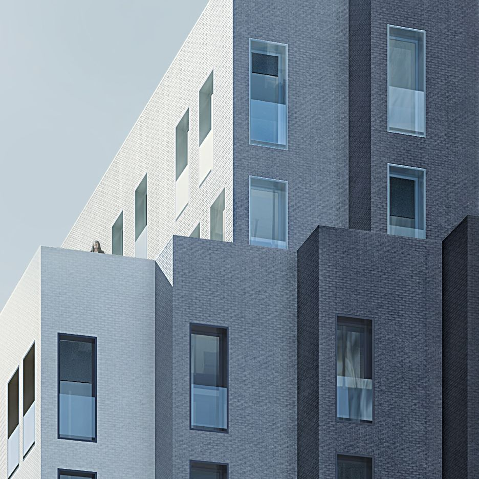 my micro ny apartment building by narchitects via latrobe