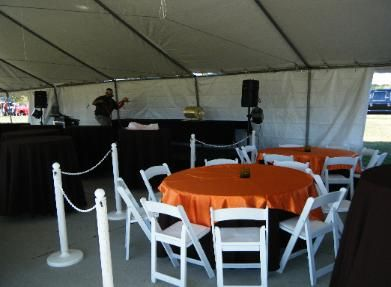 chair covers and more houston extended height office pin by richards tent party rentals on company events pinterest tx tents woodland tables mesas