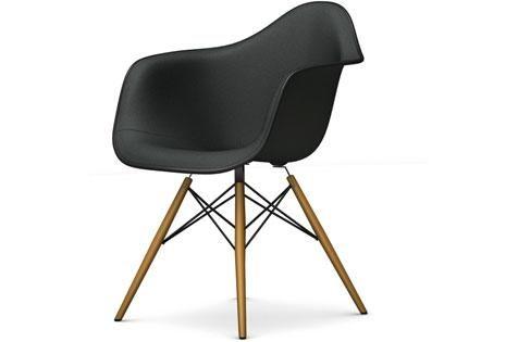 Vitra DAW Eames Plastic Armchair Volledig Bekleed