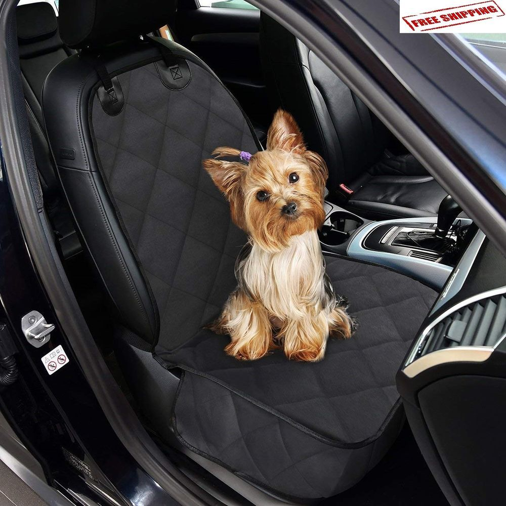 Details about Luxury Pet Car SUV Van Front Seat Cover