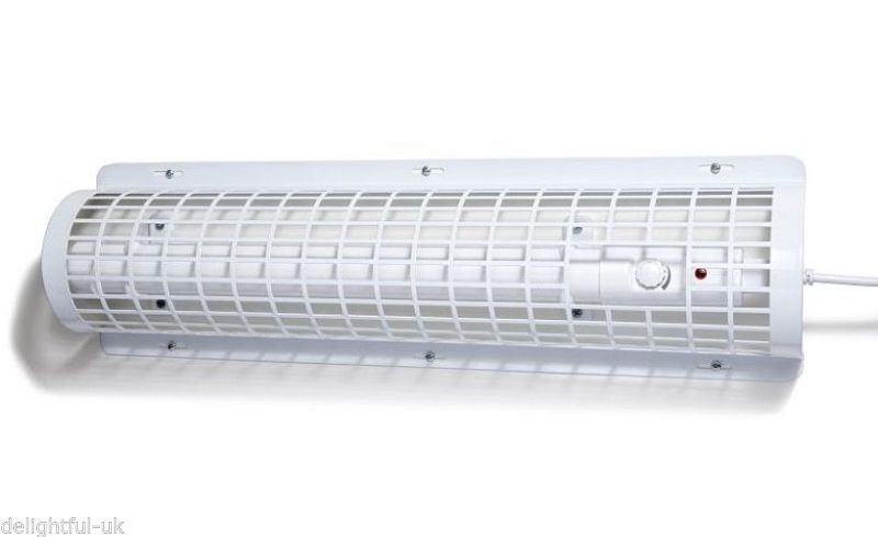 Hylite 120W Tubular Eco Tube Heater With Built In Stat & Protective Wire Guard in Home, Furniture & DIY, Heating, Cooling & Air, Space Heaters | eBay