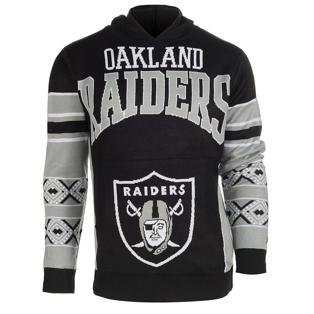 Shop eBay: NFL Oakland Raiders Youth Boys 8 Long Sleeve Hooded ...