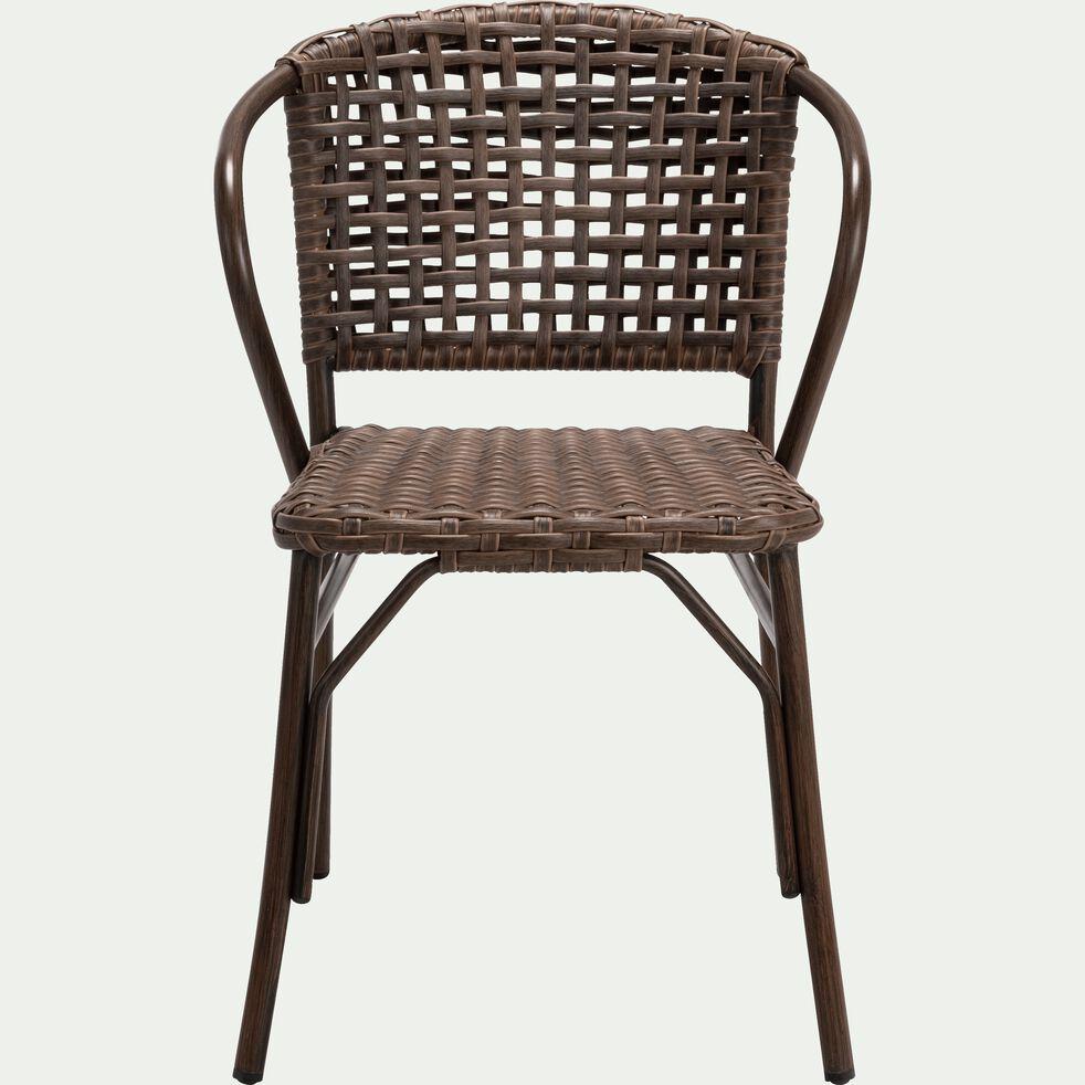Chaise De Jardin En Aluminium Brun Bolzano Chaise De Jardin Alinea En 2020