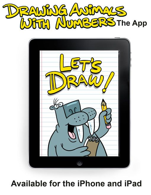 """Check out """"Drawing Animals With Numbers,"""" the app for iPad"""