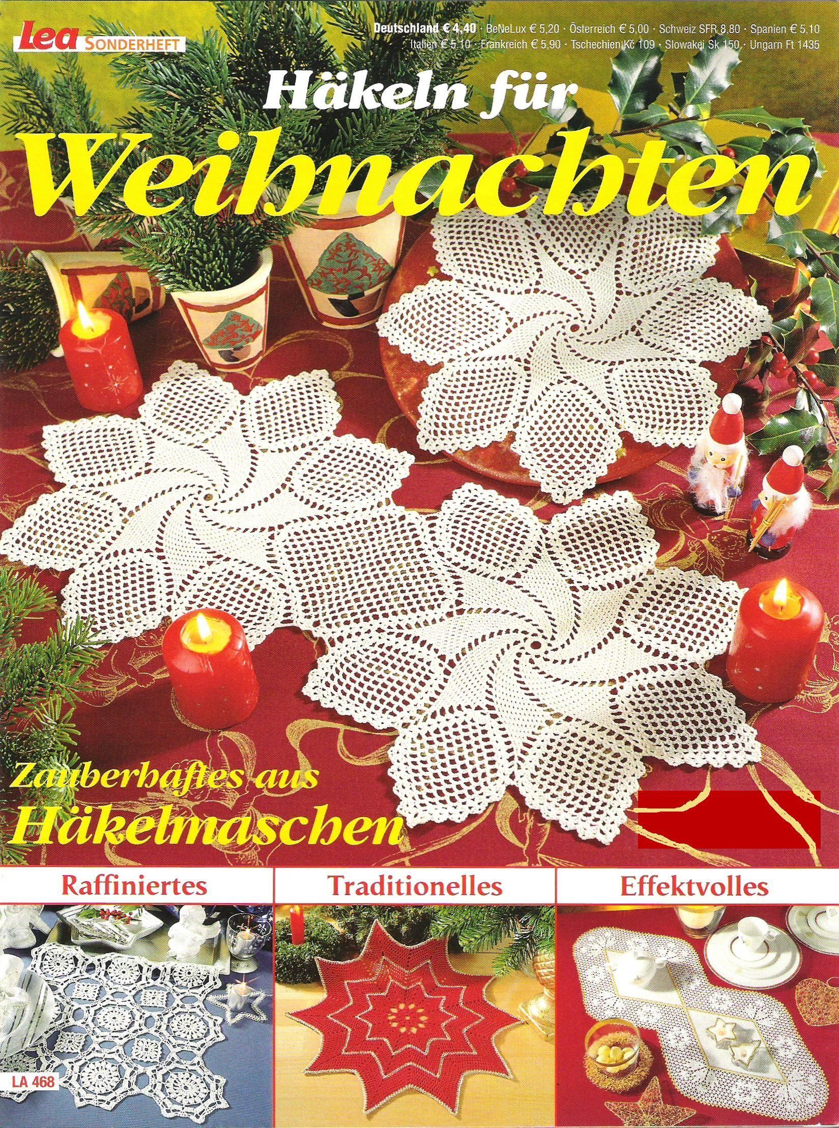 Салфеточки, шторки, скатерти… | Häkelzeitung | Pinterest | Deckchen ...