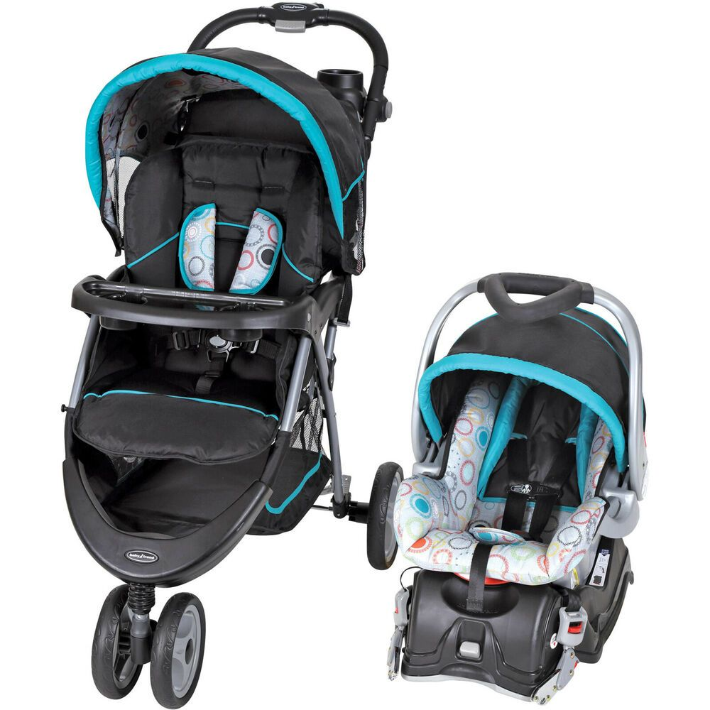 Baby Trend EZ Ride 5 Travel System Infant Toddler Car Seat