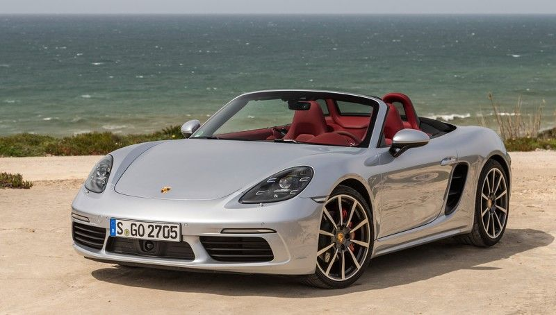 2017 Porsche 718 Boxster S Porsche 718 Boxster Boxster S Porsche Boxster