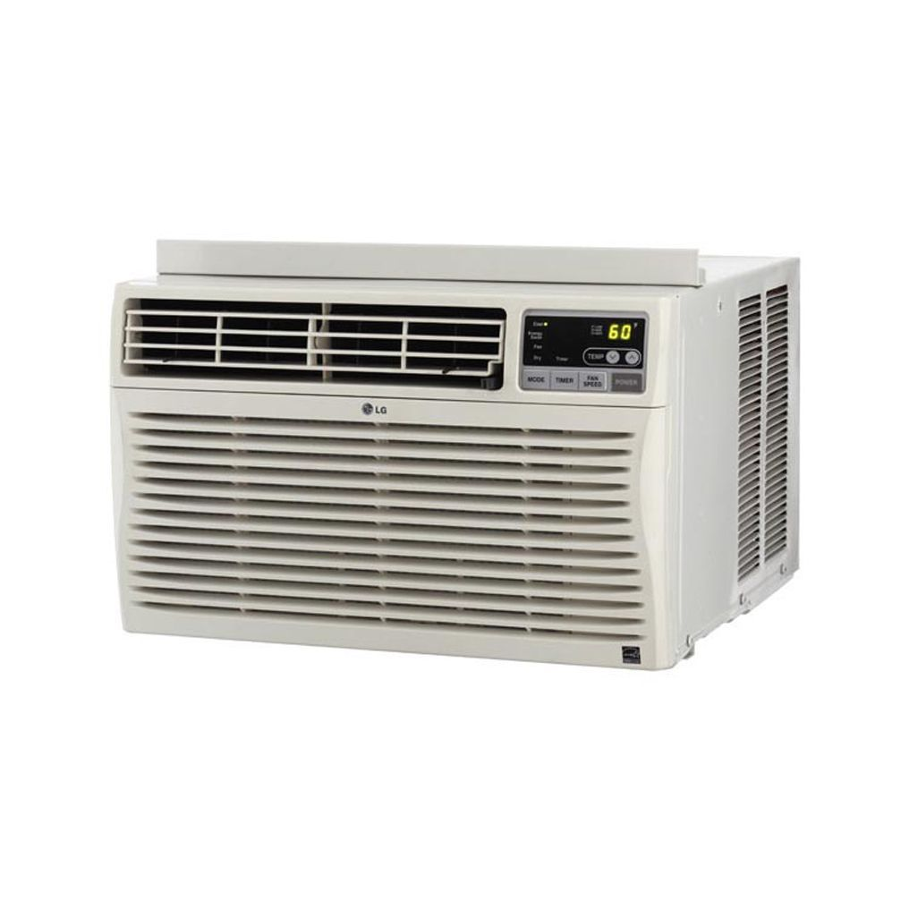 Lg Lw1213er 12 000 Btu Window Air Conditioner With Remote Refurbished White Window Air Conditioner Window Accessories Windows