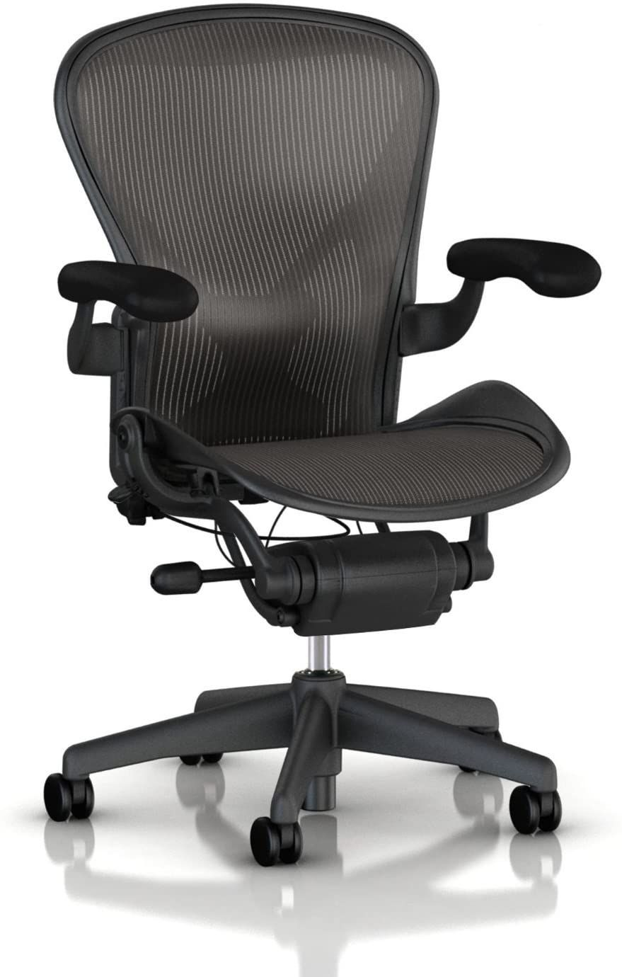 Herman Miller Classic Aeron Task Chair Highly Adj W Posturefit Support Tilit Limiter W Seat Angle Adj Fully Adj Vinyl Arms Carpet Casters In 2020 Chair Aeron Chairs Task Chair