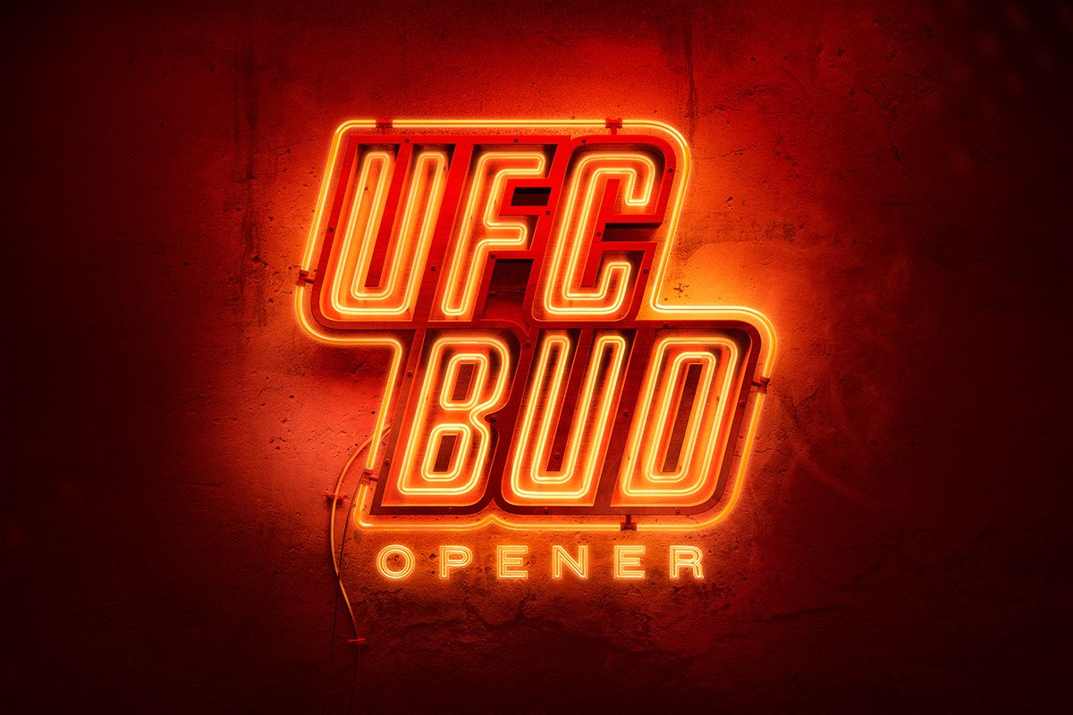 Budweiser UFC Bottle Opener on Behance Neon logo
