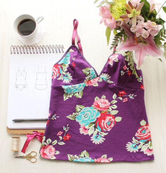 Clara Camisole Ohh Lulu 1315 Instant Download PDF Sewing Pattern ...