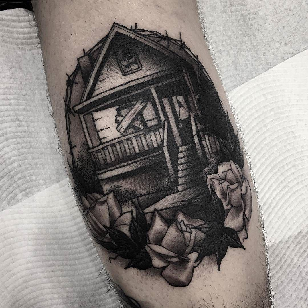 Boarded Up House by @laurenmelina at @adornedempire in Perth ...