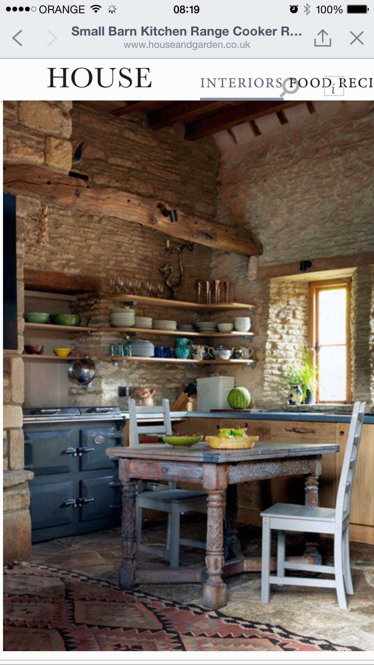 Idea by Efrat Aviv on Kitchen Barn kitchen, Rustic