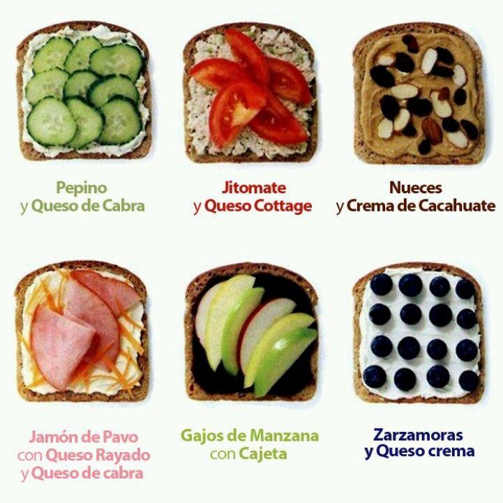 Seis ideas de snacks saludables ricos f ciles y r pidos de hacer saltasaludable deli y healthy - Almuerzos faciles y rapidos ...