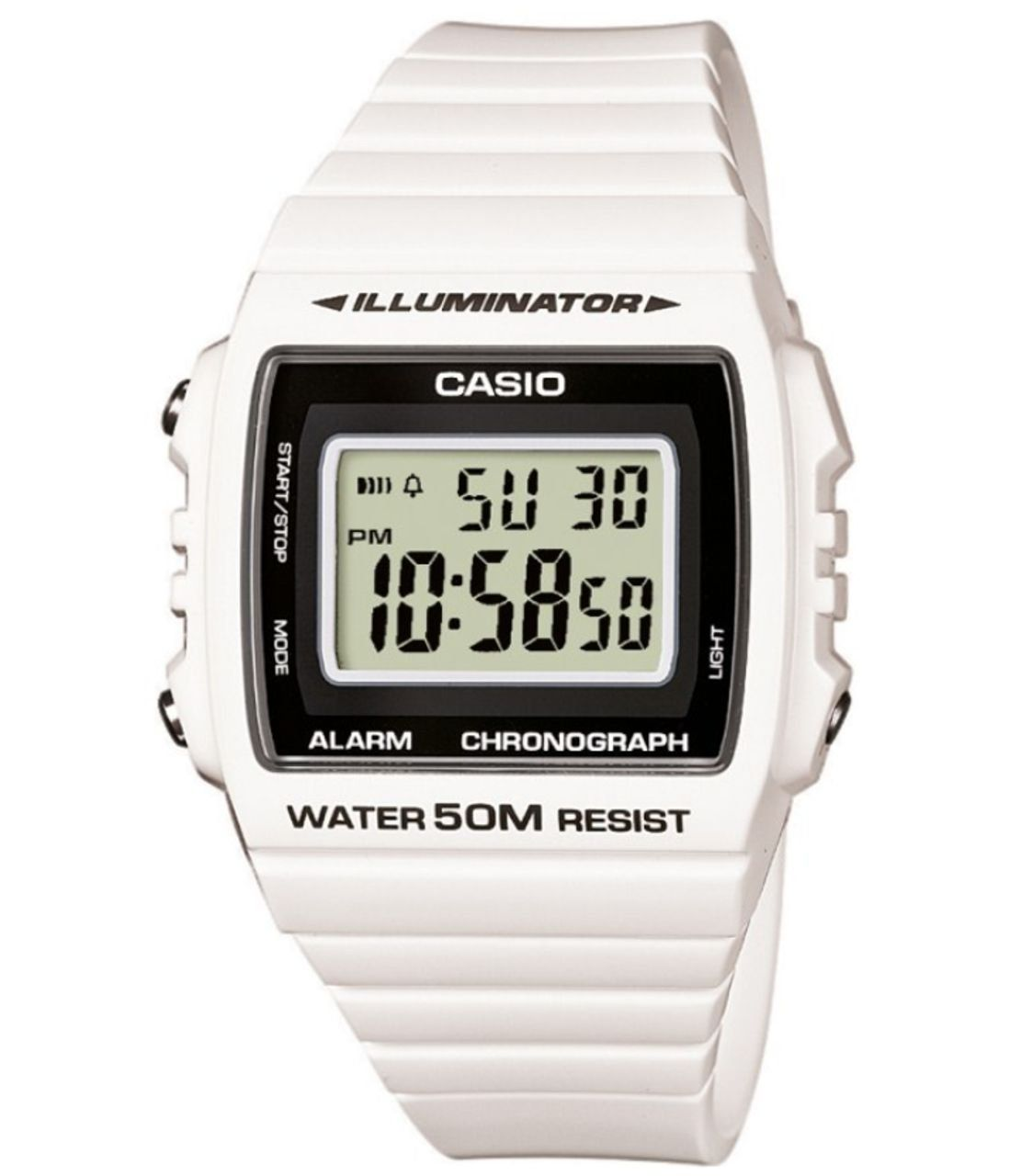 77c481140a90 Casio W-215H-7AVEF - Reloj digital de cuarzo unisex con correa de resina