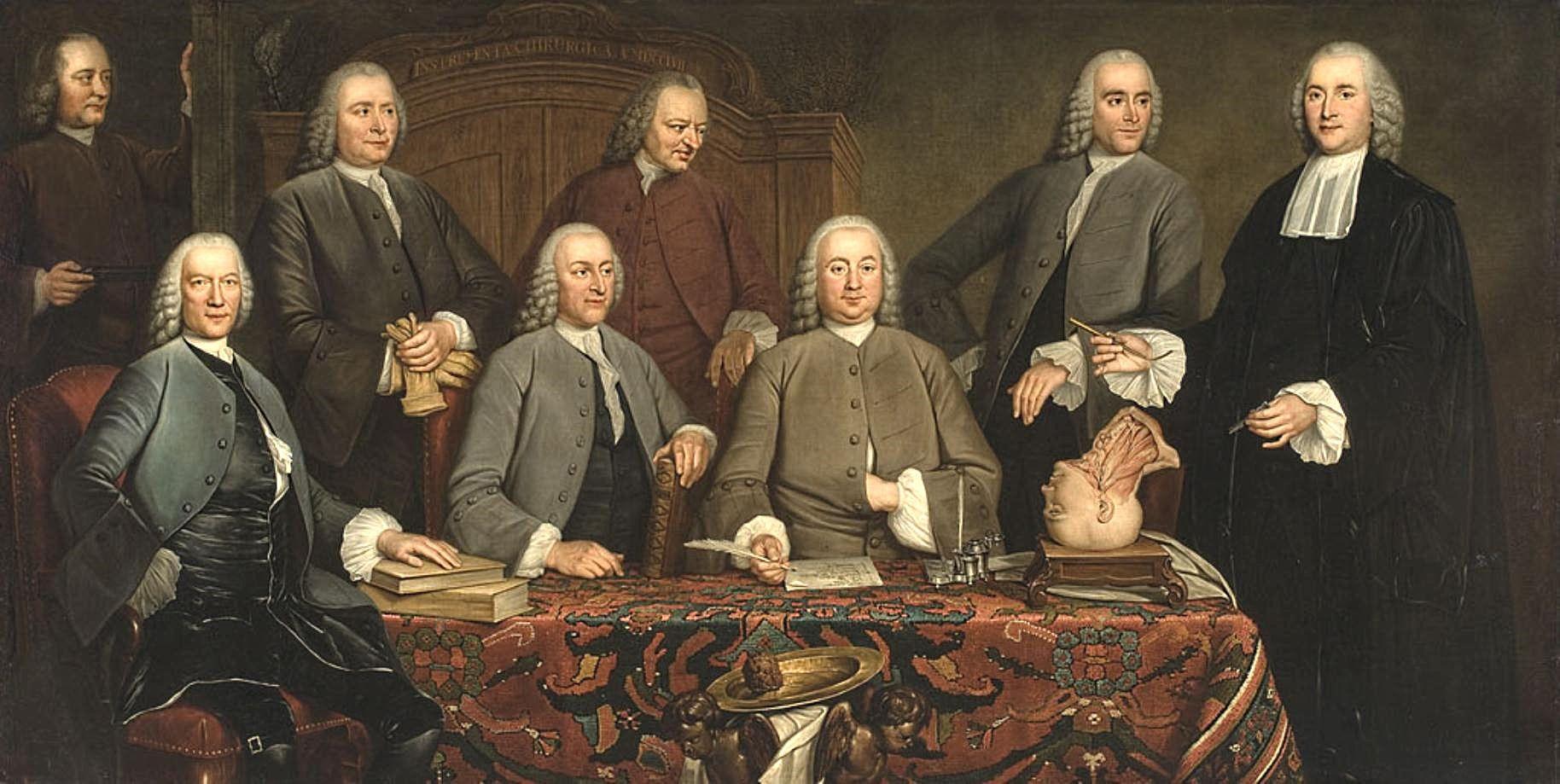 La lección de anatomía del cirujano Petrus Camper en Amsterdam ...