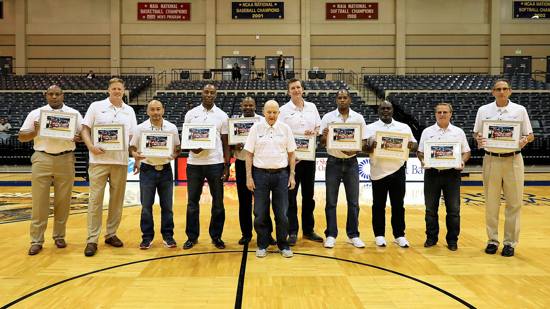 Rattler Basketball Reunion Weekend Celebrating The 30th Anniversary Of The 1989 Naia National Championship Athlete National Championship Reunion