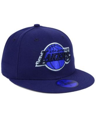 sale retailer 129ab b5f91 New Era Los Angeles Lakers Color Prism Pack 59FIFTY Fitted Cap - Blue 7 3 4