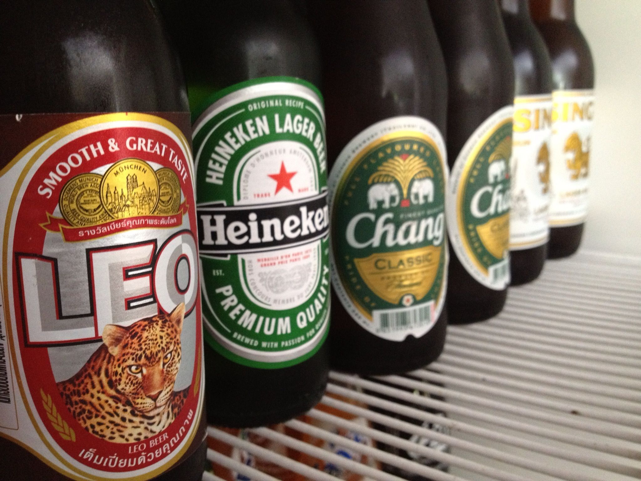 Beer thai only