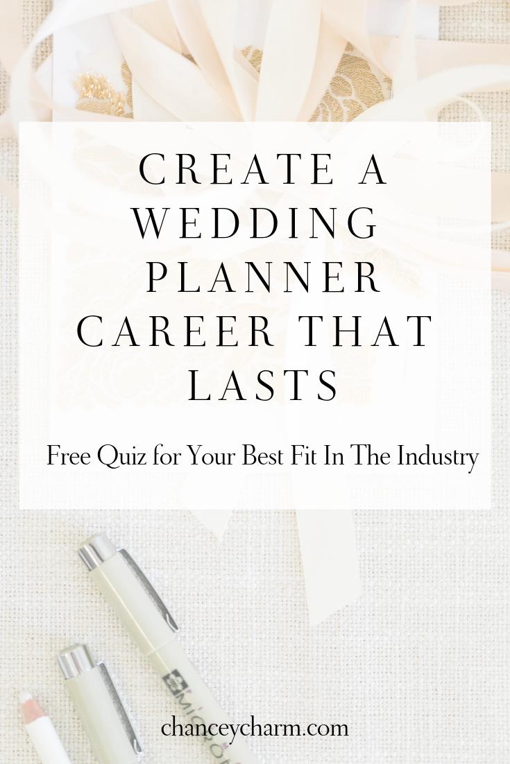 Wedding Planner Career Quiz
