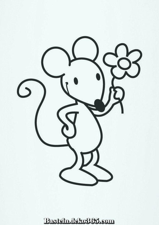 Mausefarbung Malvorlagen Zu Handen Basteln Mit Kids Ausmalbilder Ausmalbilder Kinder Maus Basteln