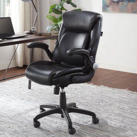 Home Black Office Chair Adjule
