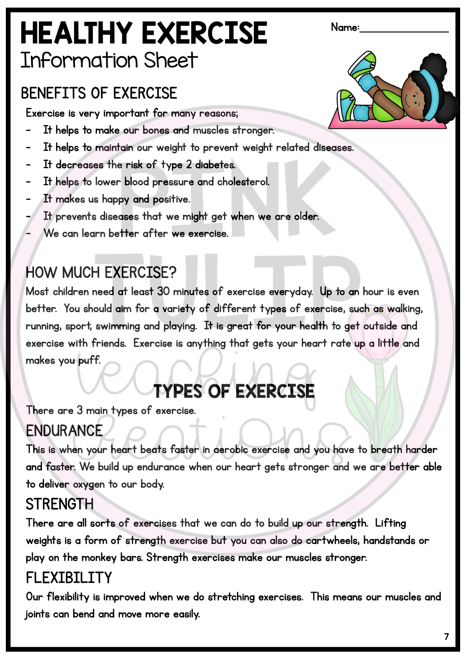 Healthy Living Reading Comprehension Pack Reading Comprehension Teachers Learning Comprehension [ 2249 x 1589 Pixel ]