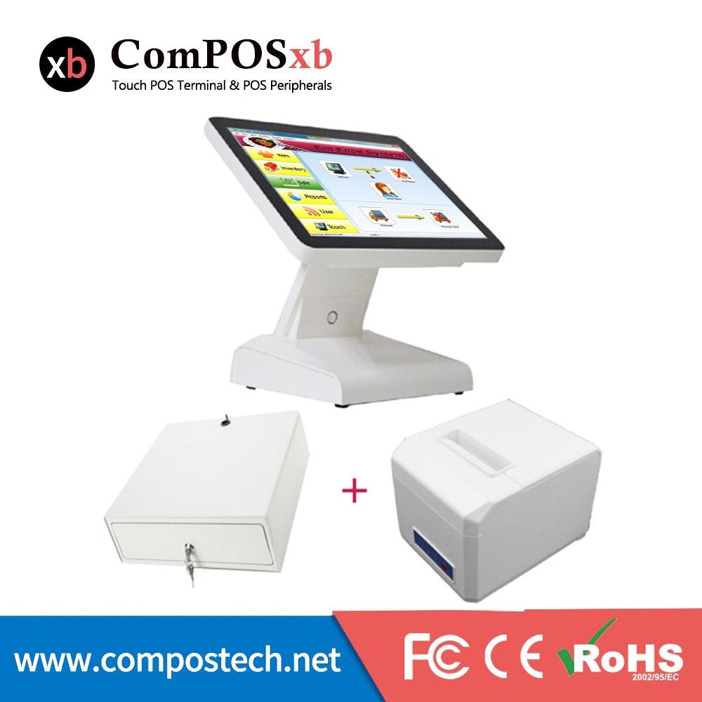 Cheap pos cash Buy Quality pos machine directly from China pos terminal Suppliers 15 inch TFT LED Pos With Pos Cash Register Thermal Printer Cash Drawer