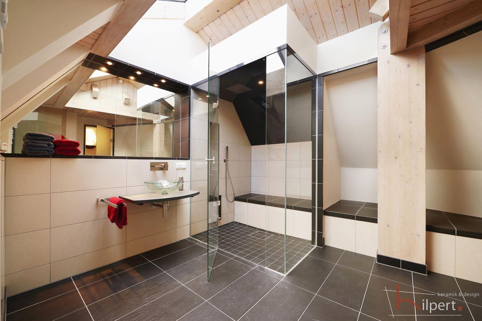 privater Wellnesstraum im ausgebauten Dachgeschoss, Dusche