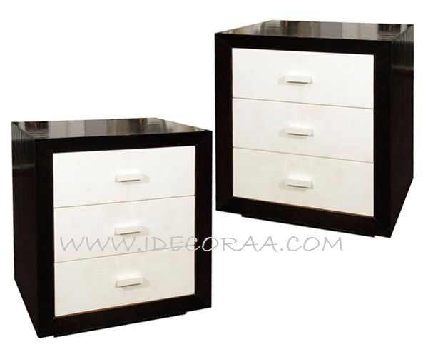 Mesa de noche veladores moderno mueble minimalista for Modelos de muebles modernos