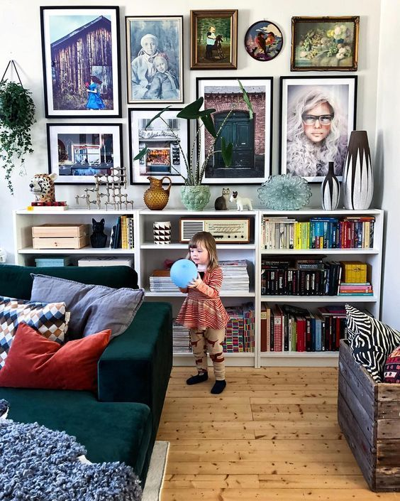 Nice Small Living Rooms: 35 Nice Bookshelves Inspiration Spark Your Idea