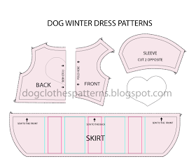 d79bf09a6b5a Free Dog Clothes Patterns: Dog winter dress patterns | Bebe my good ...