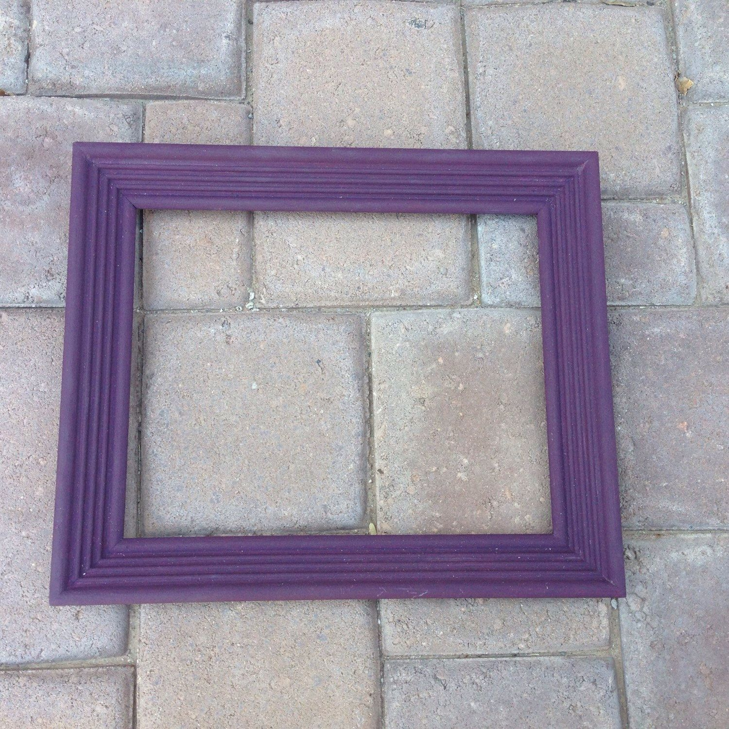 A personal favorite from my Etsy shop https://www.etsy.com/listing/235796763/purple-picture-frame-11x13-beautiful